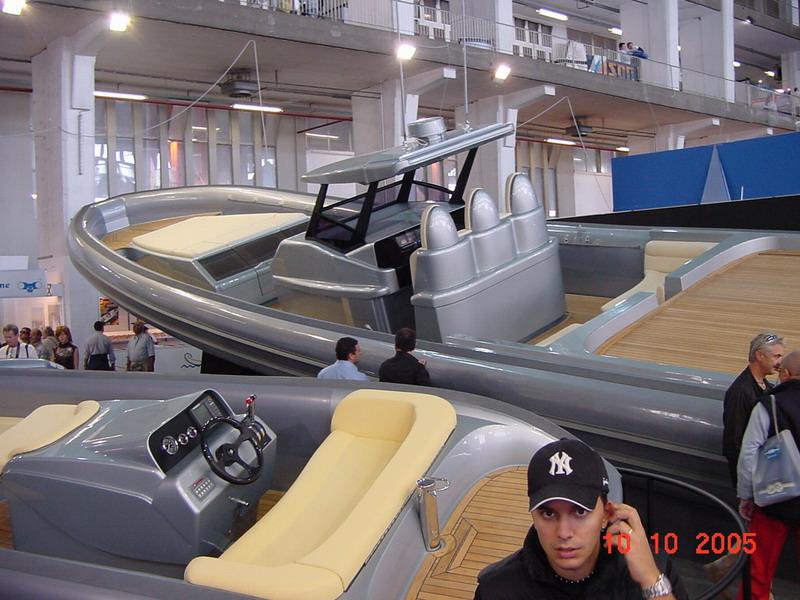 novamarine genes italie 2005 salon nautique