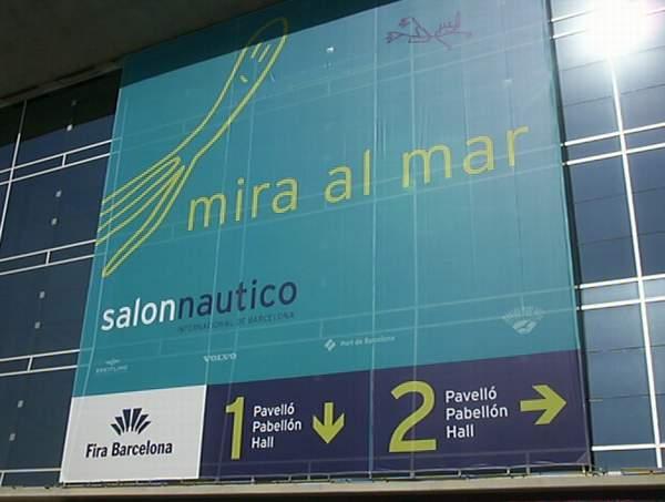 Superbe s oleil et 25 pour cette visite du 4 novembre au salon de barcelone - Salon nautique de barcelone ...